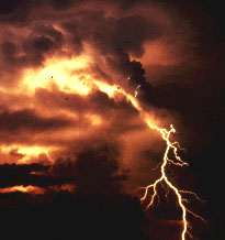 Those, who were unlucky to experience a lightning attack, notice certain changes in their organisms