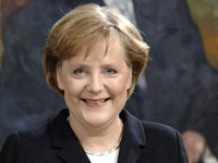 German Chancellor Thanks Gorbachev on Berlin Wall Anniversary