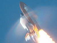 NASA tries to land space shuttle