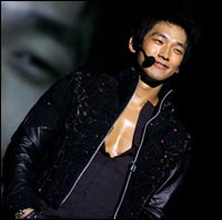 South Korean pop music star Rain debuts in Hollywood