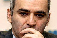 Former world chess champion Kasparov will not run in Russian presidential elections