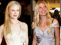 Gwyneth Paltrow Shares  Bed With Nicole Kidman in New Movie