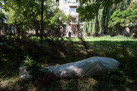 In Donetsk, 350 bodies of civilians found in mass graves. 53654.jpeg