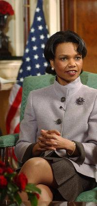 Condoleezza Rice says she's confident of support for pressure on Iran