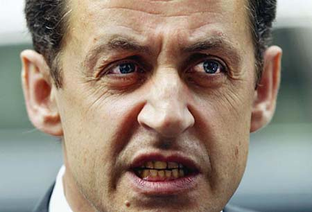Sarkozy calls U.S. interview 'stupid' and his press secretary 'an imbecile'