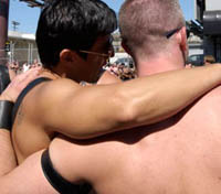Russian homosexuals never dare to confess their sexual orientation in public