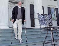 Gov. Jon S. Corzine recovers after terrible car crash