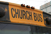 1 Dead in Church Bus Crash