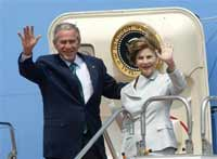 George and Laura Bush to divorce after election because of Condi Rice?