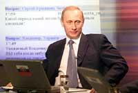 Why Putin kisses boy's stomach?
