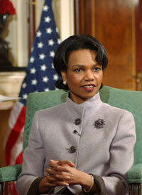 Condoleezza Rice to arrive in Moscow to have face-to-face discussion with Putin
