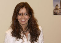 Argentines elect female president