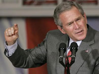 Time to relaunch Mideast peace negotiations between Israel, Palestinians comes, Bush says