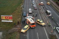 Road accidents in Iran bring 33 victims