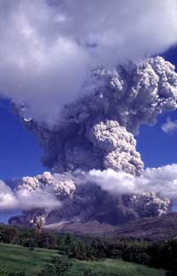 Soufriere Hills volcano shoots out huge cloud of ash five miles into sky