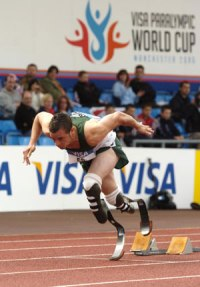 Amputee sprinter Oscar Pistorius can compete against world's best able-bodied athletes