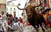 San Fermin welcomes first run of bulls