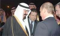 Jordan's king, Russian president discuss Israeli-Palestinian peace, Iran's nuclear program