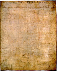 Man obtains huge profit from selling rare copy of Declaration of Independence