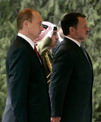 Putin attempts to use Jordan to let Russia access Iraqi oil industry