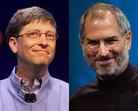 Bill Gates, Steve Jobs make rare joint appearance at technology conference