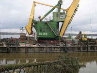 China Steals Russia's Territory with Barges and Excavators