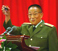 Chinese defense minister visits Japan
