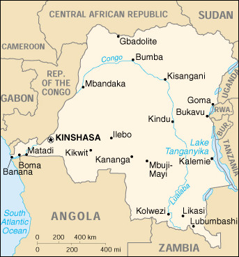 Congo arrests foreigners