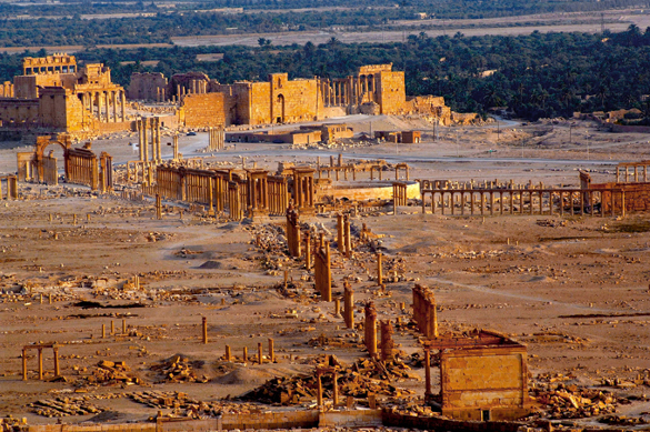 Liberation of Palmyra: Crucial moment in Syrian war. 57675.jpeg