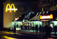 McDonald's pays Moscow only one ruble of rent a year
