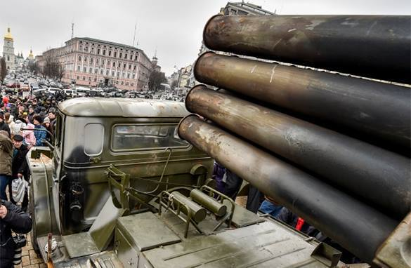 Kiev holds exhibition of junk weapons that USA calls Russian. Russian weapons in Ukraine