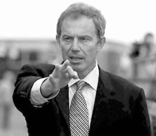 Tony Blair's name isn't on the ballot