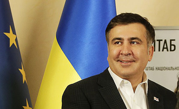 US to pay salary for Saakashvili team in Odessa. Saakashvili