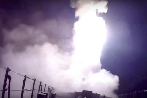 Russian warships launch cruise missiles from Mediterranean Sea. Video. 58677.jpeg