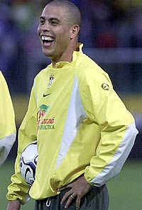 Ronaldo practices separately
