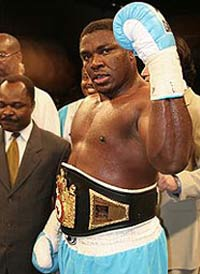 Samuel Peter becomes WBC's interim heavyweight champ