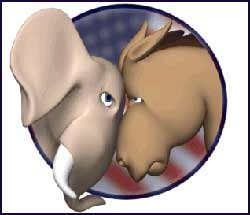 One Party System with Two Faces