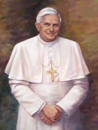 Pope Benedict XVI condemns arsonists