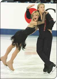 Bulgarians win worlds ice dance title
