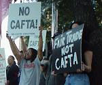 Protests against CAFTA