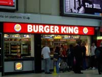 Burger King's income rises