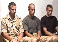 Iran detains 15 British sailors and marines in Iraqi waters