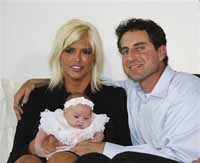 Two men battle over Anna Nicole Smith's baby