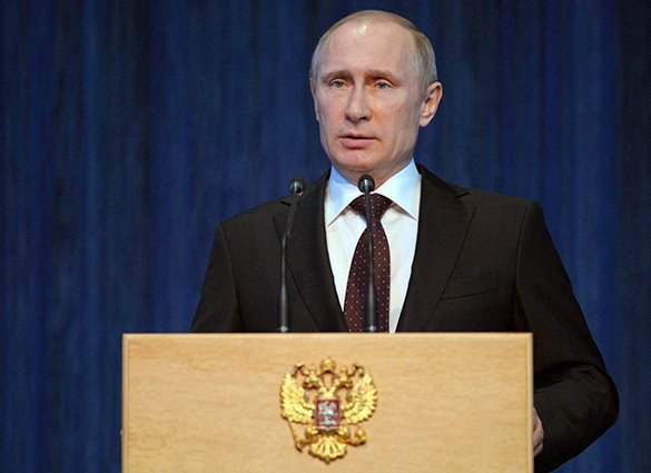 Putin: Situation in Ukraine remains tense. Vladimir Putin on Ukraine