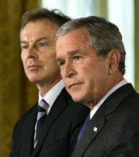 Bush optimistic about Blair's successor Gordon Brown