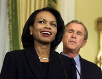 Condoleezza Rice thinks that Russia has Cold War mentality