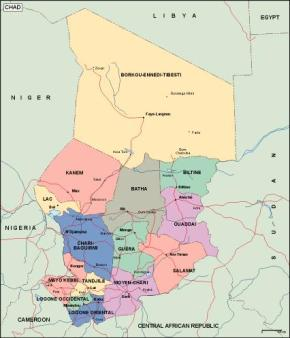 Chad's presidential election results in widely different voter turnout figures