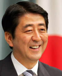 Abe changes Japan's view on World War II