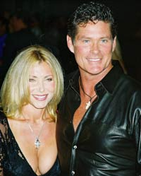 David Hasselhoff's ex-wife booked on misdemeanor hit-and-run