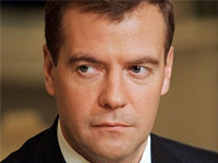There are no political prisoners in Russia, PM Medvedev says. 51699.jpeg